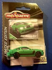 🏁 MAJORETTE Limited Edition - Green Ford Mustang Boss 🏁