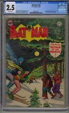 BATMAN #78 CGC 2.5 1ST APPEARANCE ROH KAR DC GOLDEN AGE COMIC