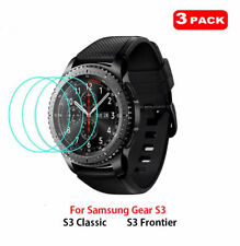 For Samsung Gear S3 Smart Watch Frontier 3 x Tempered Glass Screen Protector