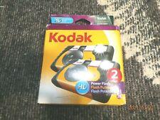 KODAK POWER FLASH 2 PACK SEALED DISPOSABLE CAMERAS EXPIRED 05/2013