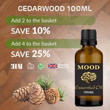 Cedarwood Essential Oil 100ml Natural Aromatherapy Essential Oils Diffuser