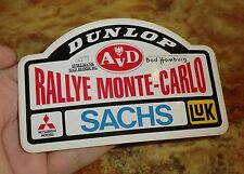 AVD Rally de Monte-Carlo pegatinas 1990s Dunlop mitsubishi sachs mónaco sticker DW