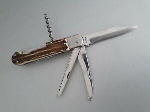 Jagdmesser Horngriff Klappmesser MIKOV Messer Knife