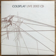 Coldplay - Live 2003 CD, Enhanced, Promo CP LIVE 2003, Never used or Played