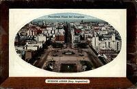 Buenos Aires Argentinien Argentina ~1910 Plaza del Congreso Panorama ungelaufen