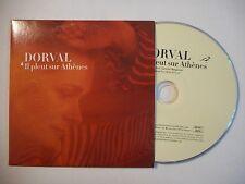 DORVAL : IL PLEUT SUR ATHENES ▓ CD SINGLE PORT GRATUIT ▓