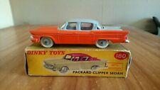 Dinky Toys No.180 Packard Clipper Sedan (Original/Boxed 1958-1963)