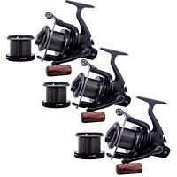 Sonik Dominator X 6000 RS Big Pit Carp Reel -Set of 3- *New* - Free Delivery
