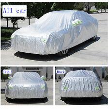 Size XXL Car Cover Aluminized Sun Rain Dust Snow Resistant For Sedan Waterproof