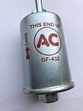 69-72 Corvette Fuel Filter Gf432 Style New Gas Filter With Ac Logo Writing