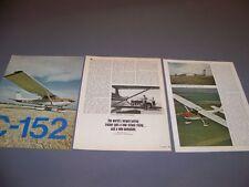 VINTAGE..CESSNA 152..HISTORY/DETAILS/PHOTOS..RARE! (591H)