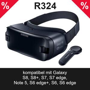 Samsung Gear VR Brille SM-R324 mit Controller 3D Brille 360° Reality Gebraucht