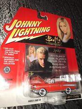 Johnny Lightning 2000 Buffy VS Series Xanders Chevy W/ Spike Card