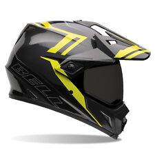 Bell MX 2015 MX-9 Adventure Matte Barricade Motocross Crash Helmet Hi-Vis XXL