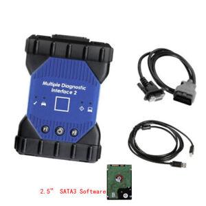 MDI-II MDI 2 Multiple Diagnostic Interface 2 with Wifi  + Software