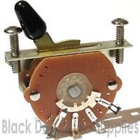 Guitar switch 3 way, 4 way, or 5 way including screws pickup selector