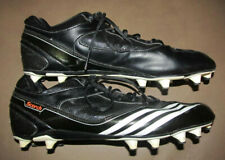 Adidas Scorch Low Cleat Men's Football Sku G09115 Size 11.5 Black & White 11 1/2