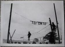 9th World Scout Jubilee Jamboree Original Photo 2: Toronto Rope Bridge