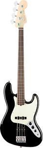 Fender American Professional Jazz Bass Fretless Black