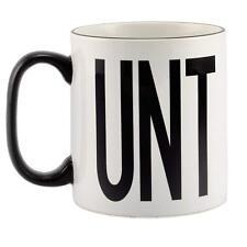 Black Rim and Handle Rude Naughty *UNT Mug Gift Homour Funny Joke Friend Fun