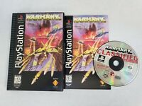 WarHawk PS1 PlayStation Longbox Complete Near Mint Disc Free Fast Shipping