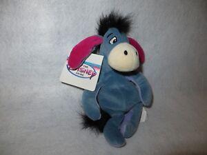 "Eeyore Disney Store 9"" Plush Winne the Pooh Mini Bean Bag - MWT"