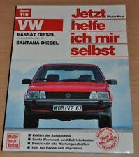 VW Passat 1980 - 1988 Santana Diesel Motor Bremsen Reparaturanleitung JHIMS 116