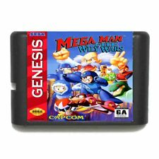 Mega Man The Wily Wars 16 bit SEGA MD video Game Card Sega Mega Drive Genesis