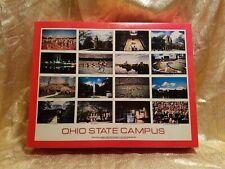 1990 Vintage Ohio State University Puzzle Complete 550 Pc. Campus Buckeyes