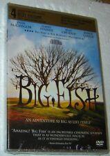 Big Fish (Dvd, 2004), New & Sealed, Region 1, Widescreen, Starring Albert Finney