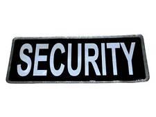 Noir sécurité Insigne Réfléchissant Large for Officiers,Spéciale