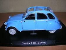 Atlas fabbri citroen 2 CV 4 azul pálido lightblue año de fabricación modelo 1976 1:24
