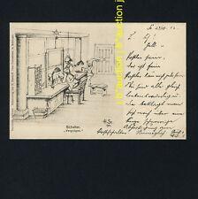Postwesen ZWERGE SCHALTER / DWARFS AT POST-OFFICE COUNTER * AK 1900 H STARKLOFF