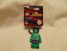 Lego #850814 The Hulk Marvel Super Heroes Key Chain RHTF Wtih Tag NIB 2013!