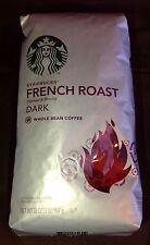 STARBUCKS FRENCH ROAST COFFEE 2 LB BAG DARK WHOLE BEAN GOURMET STOCKING STUFFER