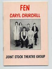Caryl Churchill FEN First Edition Playscript SIGNED by the Author! Scarce thus!