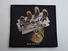 Judas Priest British Steel Woven Patch