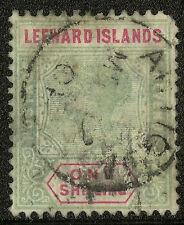 Leeward Islands  1890  Scott # 7   USED
