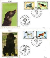 Repubblica Italiana 1994 FDC Filagrano Gold Cani
