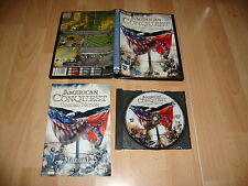 AMERICAN CONQUEST DIVIDED NATION ESTRATEGIA PARA PC USADO COMPLETO