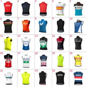 2021 Mens Cycling Vests cycling jerseys Cycling Sleeveless Jersey Windproof vest