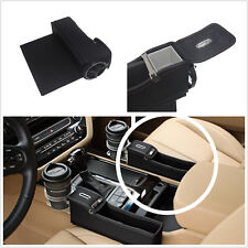 Multi-use Leather Catch Catcher Box Car Seat Gap Slit Pocket Storage coin box