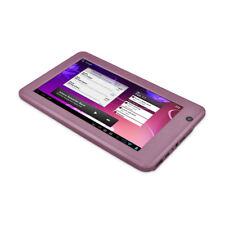 "Ematic HD eGlide Steal 7"" Capacitive Android 4.0 1GHz Tablet w/ 4GB - Pink"
