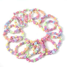 12 x YUMMY PARTY BAG Fillers BRACELETS Gifts girls favours Filler Princess 12P