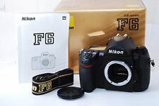 "Nikon F6 35mm SLR Film Camera Body Only ""Excellent++ in Box"" #1056"