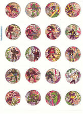 TRASH BAG BUNCH Complete set Tazos Pogs Toy Collection Action Figures Toys NEW