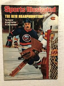 1977 Sports Illustrated NEW YORK Islanders BRYAN TROTTIER No Label TOP SCORER