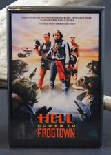 "Hell Comes to Frogtown Movie Poster 2"" X 3"" Fridge Magnet. Roddy Piper"