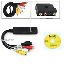 USB VHS/VCR A Convertitore Video / DVD convertitore / Cattura Completo Scart Kit