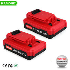 2) For PORTER CABLE PCC680L PCC682L PCC685L 20V Max Lithium-Ion 2.0Amp Battery